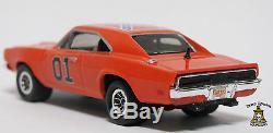 Dukes of Hazzard General Lee Custom Diecast 1969 Dodge Charger Vector Wheels Hot