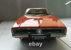 Dukes of Hazzard General Lee Dodge Charger 1969 1/18 Rare Autoworld No Spark