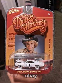 Dukes of Hazzard Johnny Lightning General Lee White Lightning Series 3 VHTF