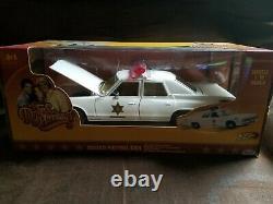 Dukes of Hazzard Johnny Lightning Rosco's Patrol Car 1/18 Scale