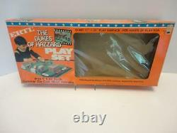 Dukes of Hazzard Playset with GENERAL LEE 1981 by ERTL Diecast 1/64 scale 5 Cars