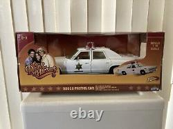 Dukes of Hazzard Rosco Police car Sheriff Johnny Lightning 118
