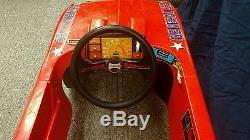 Dukes of hazzard general lee coleco pedal car