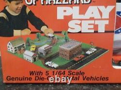 ERTL 1816 The Dukes Of Hazzard Playset Mint from 1981 Very RARE