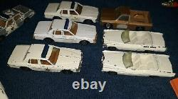 ERTL DUKES OF HAZARD LOT OF 13 cars and 1 Tootsie Toy General Lee