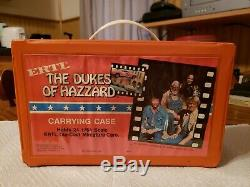 ERTL Dukes Of Hazzard Carrying Case And 15 Cars. 1981