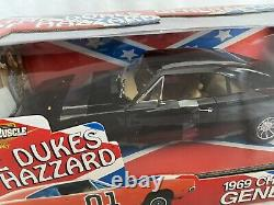 ERTL Happy Birthday General Lee All Black Charger 118 VERY RARE