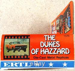 ERTL The Dukes of Hazzard 4-Pack Die cast Metal Set. No. 1570