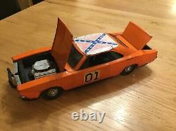 ETRL. 68, CHARGER from THE DUKES OF HAZZARD. Early 1980s Tin Plate Toy