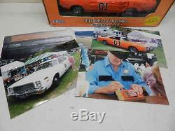 Ertl 1/24 Scale DUKES OF HAZZARD Charger Diecast with James Best autograph +