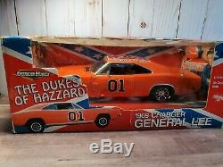 Ertl 1969 Dodge Charger General Lee Dukes of Hazzard 118 Scale Diecast TV Car
