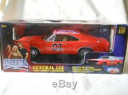 Ertl 1969 Dodge Charger General Lee The Dukes of Hazzard Joy Ride118 NEW