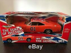 Ertl American Muscle 118 1969 Dodge Charger General Lee Dukes of Hazzard #32485