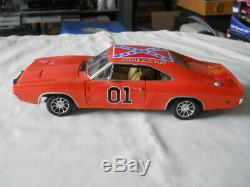 Ertl American Muscle 1969 Dodge Charger General Lee Dukes o Hazzard 118 Diecast