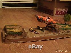 Ertl Dukes Of Hazzard Diorama Display General Lee Jump Over River Hf on Dukes Of Hazzard Police Car