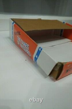 Ertl Dukes of Hazzard toy trade box, General Lee TV 80s Dodge Charger muscle car