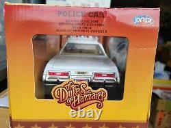 Ertl Joyrides Dodge Monaco Police Car Dukes Of Hazzard White Near Mint 1/18