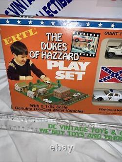 Ertl The Dukes Of Hazzard Hazard Playset 1981 Diecast Nib