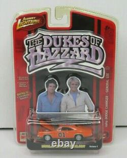 General Lee 1969 Dodge Charger R1 THE DUKES OF HAZZARD Johnny Lightning 1/64