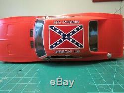 General Lee rc car 1/10 Dukes of hazzard Malibu International