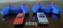 Hot Wheels RC / Ertl Dukes Of HAZZARD 1/64 Diecast RC Battery Powered Race Set