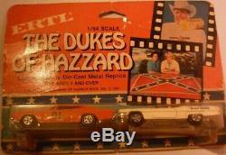 Incredibly rare Ertl Dukes of Hazzard 2 pack Gen Lee & Cadillac 1/64. 1981