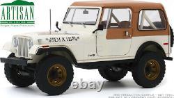 JEEP CJ-7 1979 DIXIE Dukes of Hazzard Look-a-like model GREENLIGHT 19065 118
