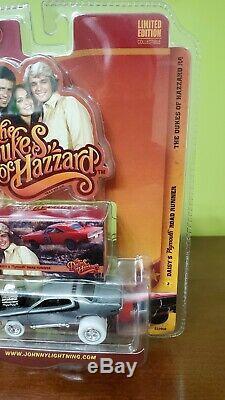 Johnny Lightning Dukes Of Hazzard Daisy's Road Runner Zinger White Lightning