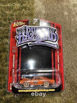 Johnny Lightning Dukes of Hazzard General Lee 1969 Charger Chase Mint In Pack