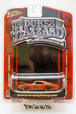 Johnny Lightning Dukes of Hazzard General Lee'69 Charger WHITE LIGHTNING CHASE