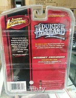 Johnny Lightning Dukes of Hazzard General Lee'69 Charger WHITE LIGHTNING CHASE