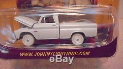 Johnny Lightning Dukes of Hazzard Uncle Jesse's Chevy P/U WHITE LIGHTNING MIP