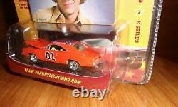 Johnny Lightning Series 3 #2 Dukes of Hazzard 69 Charger GENERAL LEE small dent