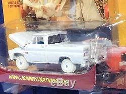Johnny Lightning WHITE LIGHTNING Dukes of Hazzard Uncle Jesses Chevy PickupCHASE