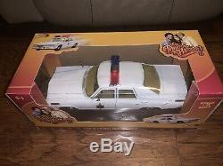 Johnny Lightning White Lightning Dukes Of Hazzard Rosco Patrol Car 118 RARE