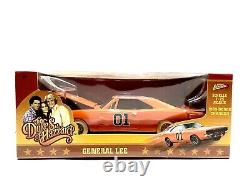 Johnny White Lightning General Lee 124 The Dukes Of Hazzard 1969 Charger Chase
