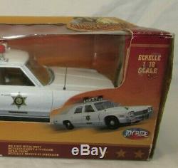 Joy Ride Dukes Of Hazard Police Car 1974 Dodge Monaco 118 Scale Die Cast NIB