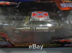 Joy Ride The Dukes of Hazzard General Lee 1969 Dodge Charger Chrome 1/25