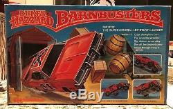 KNICKERBOCKER 1981 COMPLETE Dukes Of Hazzard BARN BUSTERS SET GENERAL LEE RARE