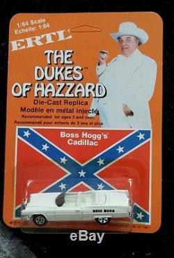 Lot of 24 RARE Ertl 1981 Dukes Of Hazzard 164 Diecast Car Boss Hoggs Cadillac