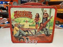 MEGA COLLECTORS General Lee LOT! Dukes Of hazard Diecast With Lunchbox