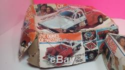 MPC Dukes of Hazzard Vintage Model Kit Lot Cooter's Tow Truck Daisy's Jeep