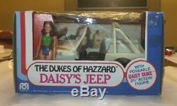 Mego 1981 The Dukes Of Hazzard Daisys Jeep Rare Daisy Duke Long Hair. Awesome