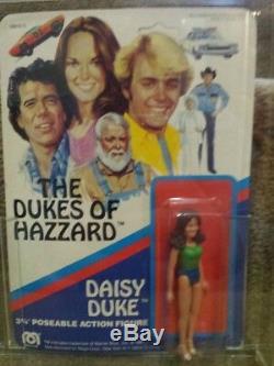 Mego The Dukes of Hazzard Daisy 3.75 figure sealed unopened MOC with AFA Case
