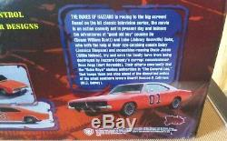 Movie DUKES OF HAZZARD RC CAR 110 Collectible General Lee-VERY RARE & NEW