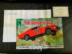 NIB! DOCS & TITLE! Danbury Mint 1969 Dodge R/T Charger The General Lee 124
