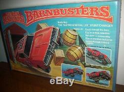 New-sealed 1981 Dukes Of Hazzard General Lee Knickerbocker Barnbusters Stunt Set
