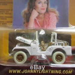 Nip Moc Johnny White Lightning Wl Dukes Hazzard Daisy Jeep Cj-5 Vhtf Rare 1/64