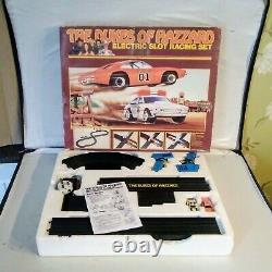 RARE Dukes Of Hazzard Slot Car Racing Set (1981)