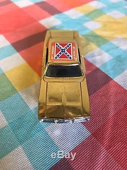Rare Gold Tone Ertl General Lee Dukes Of Hazzard Dp